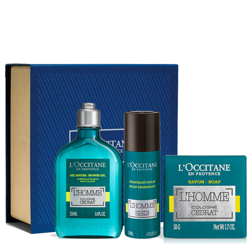 """L'Homme Cologne Cedrat"" Gift Set | L'OCCITANE"