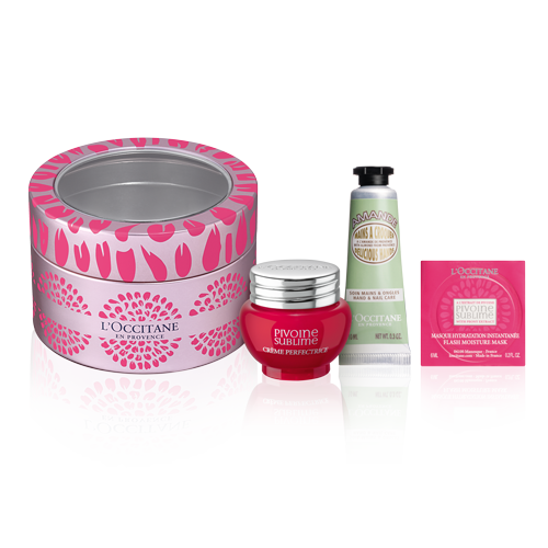 Pivoine Kit in Metal box