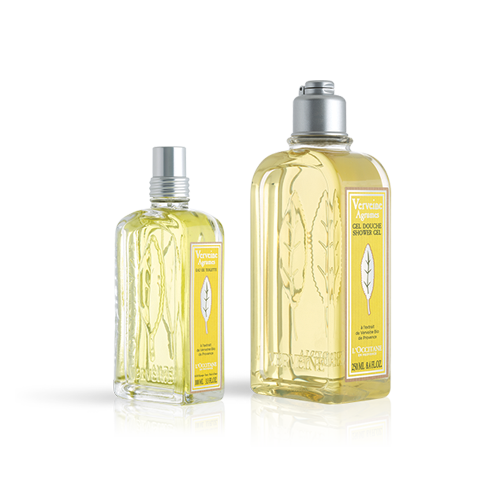 Xmas Citrus Verbena Perfume Set