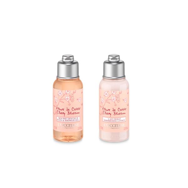 Cherry Blossom Mini Duş Bakım Seti