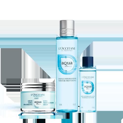 Aqua Réotier Hydration Set (Cream)