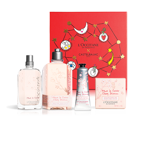 FLOWERY PERFUME FOR HER - CHERRY BLOSSOM SET