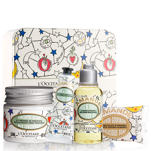 CASTELBAJAC Almond Kit In a Tin Box | L'OCCITANE
