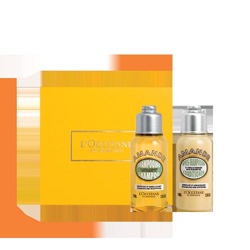 Radiant Hair Almond set