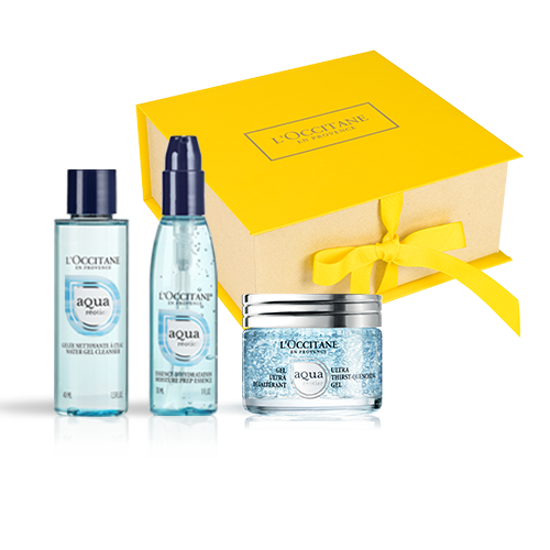 Aqua Reotier Travel Set with a Gel
