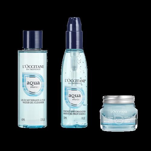 Kit Descubrimiento Aqua Reotier Crema Ultrahidratante