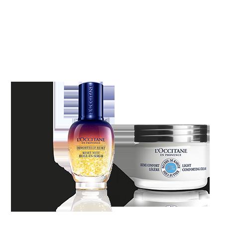 Moisturizing Face Cream & Reset Duo