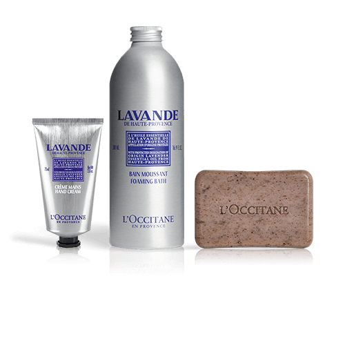 Home Spa Bath Kit   Lavender