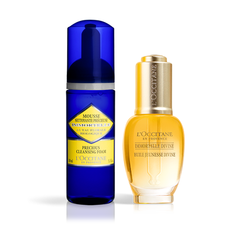 Duo Facial Divine e Immortelle Precious