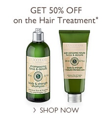 Get 50% OFF on the Hair Treatment