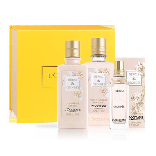 Presente Banho, Hidratação e Fragrância Néroli & Orquídea