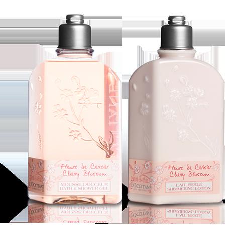 Sabonete Líquido e Loção Corporal Flor de Cerejeira