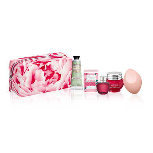 Pivoine Kit in flowery Pouch