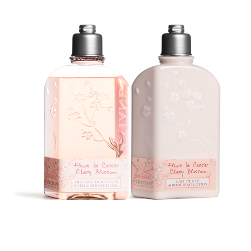 粉櫻花浴組