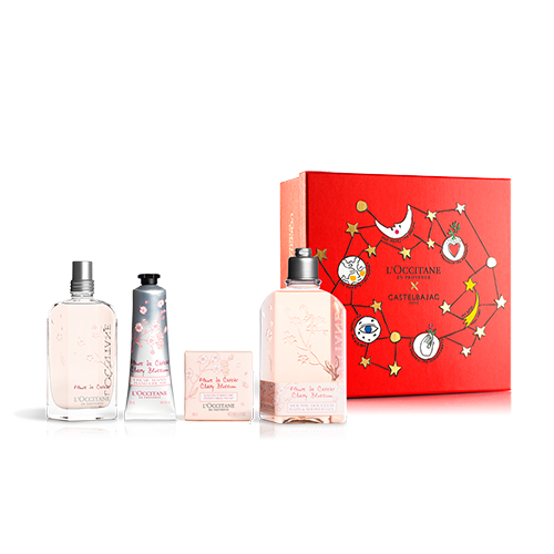 FLORAL & FRUITY CHERRY BLOSSOM PERFUME SET