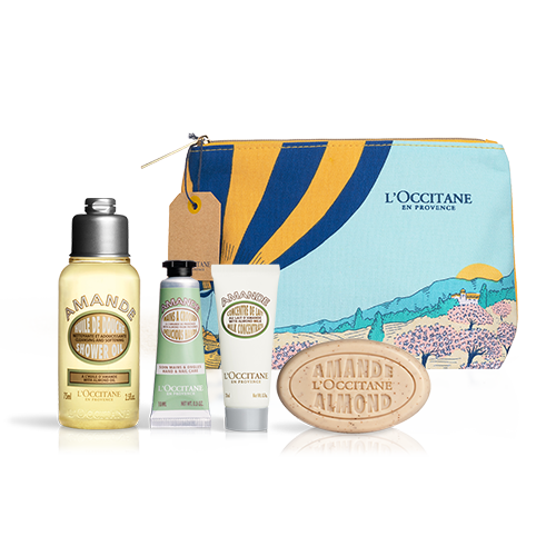 Almond Travel Set