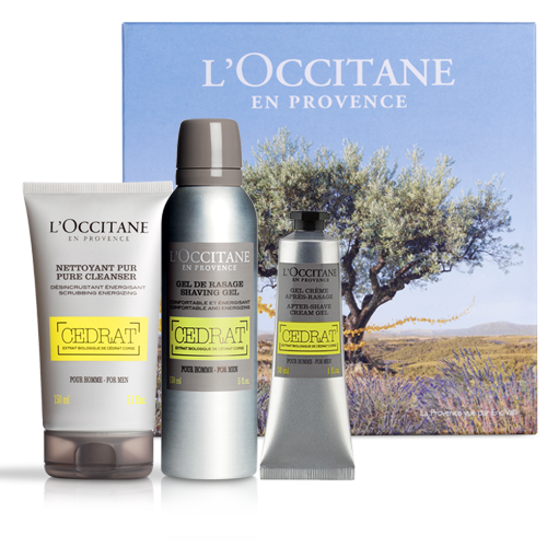 Face Care Set Cedrat | L'OCCITANE