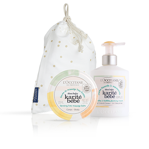 Gentle care gift set