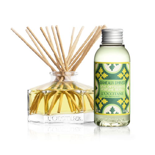 Home Perfume Diffuser + Winter Forest