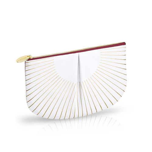 Mini Bakım Çantası Beyaz