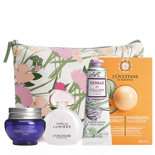 Gift Set with cosmetic bag