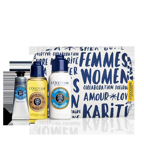 Trio Viagem Banho e Hidratação Karité