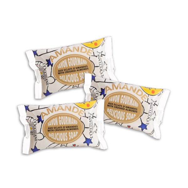 Castelbajac Almond Soap Trio