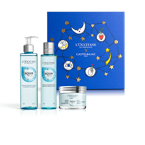 HYDRATING FACE CARE SET | GIFT SET WITH AQUA RÉOTIER