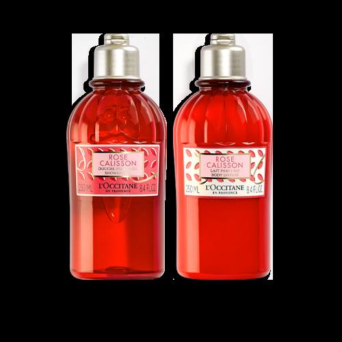 Duo Banho e Hidratação Rose Calisson