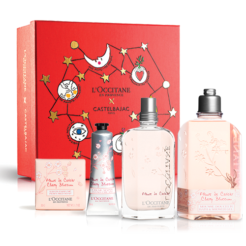 Xmas Cherry Blossom Perfume Set