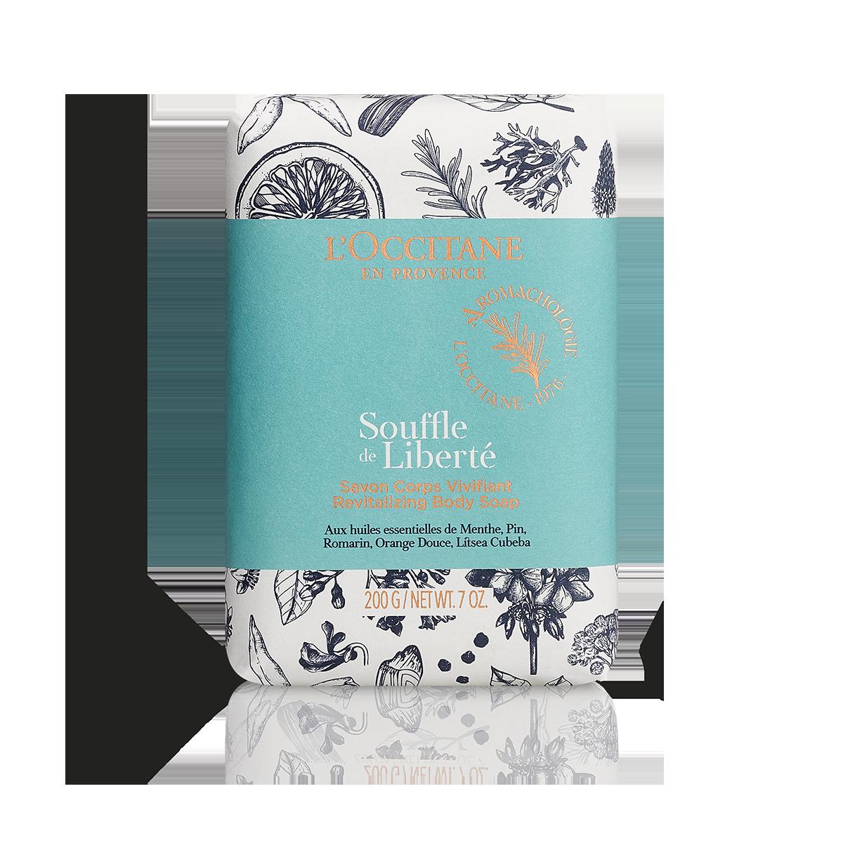Souffle de Liberté Revitalizing Body Soap