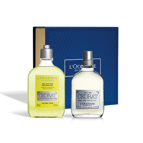 Cedrat EDT Set for PLN 239 only!