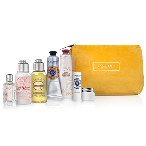 Face & Body Care Kit in a Beautiful Pouch