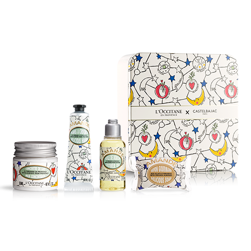 ALMOND LIMITED EDITION TRAVEL SET