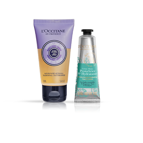 ZA LAVENDER CLEANSE & PROTECT TRAVEL DUO