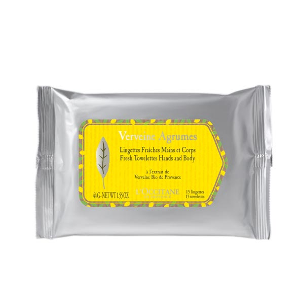 Citrus Verbena Fresh Hands and Body Towelettes