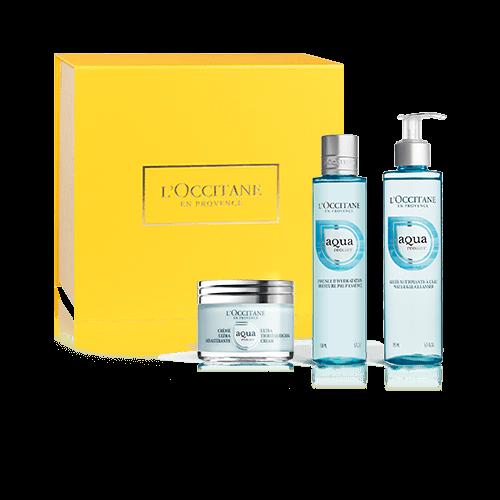 Aqua Réotier moisturising set