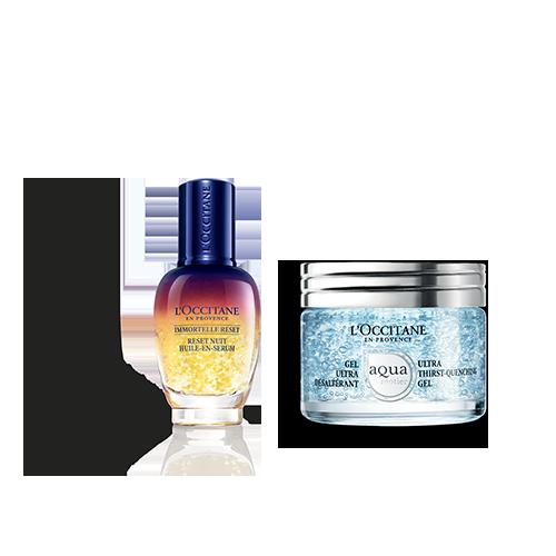 Ultra Hydrating Face Cream & Reset Duo