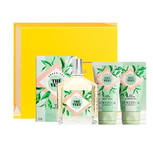 Presente Fragrância e Corpo Chá Verde