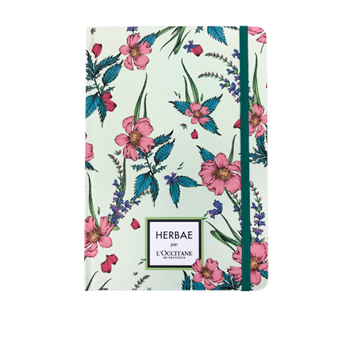 Caderno Herbae par L'Occitane