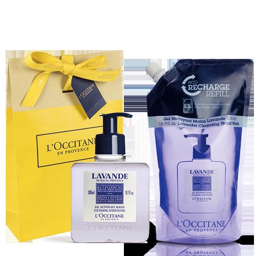 Lavender scented soap set