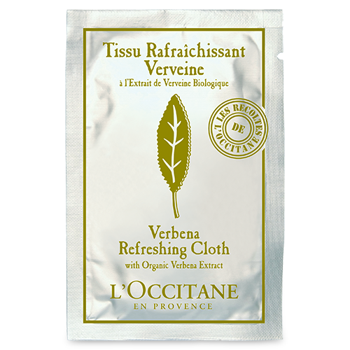 Verbena Refreshing Cloth