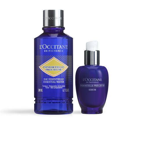 蠟菊精華熱銷口碑組|深層活化緊緻|化妝水|爽膚調理|L'OCCITANE 歐舒丹
