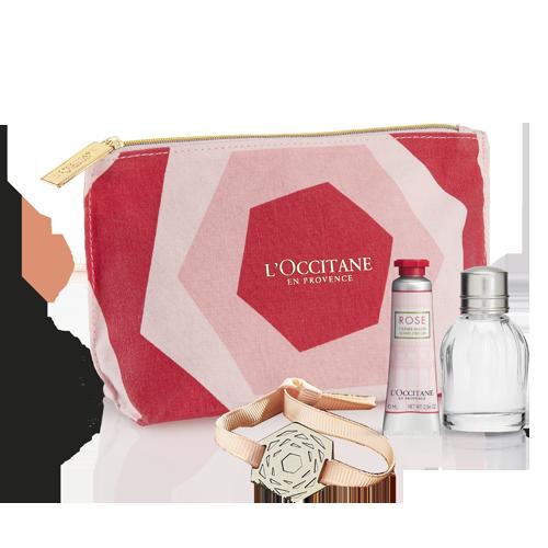 Rose Perfume Set