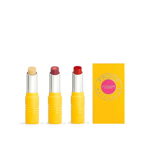 Presente Trio Batons Fruits & Vitamine