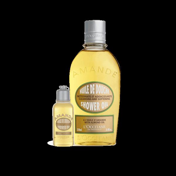 Almond Shower Oil & Mini