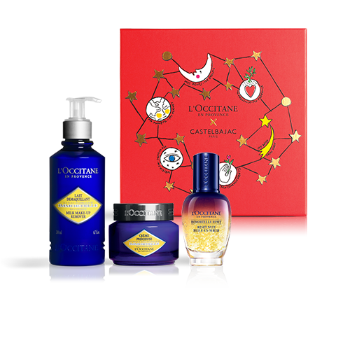 INTENSIVELY REGENERATING FACE CARE - IMMORTELLE RESET LUXURY SET