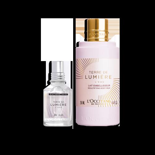 Duo Perfumado Corpo e Cabelo Terre de Lumière L'Eau