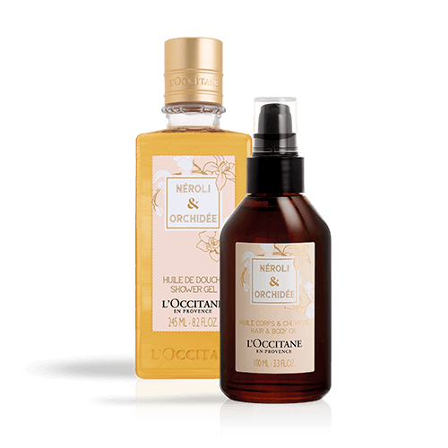 Néroli & Orchidée Oil Duo Body & Hair