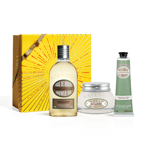Gift Set Almond Body Care